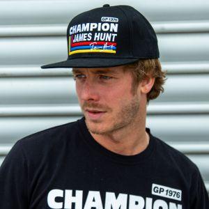 James Hunt Cappello Silverstone