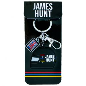 James Hunt Schlüsselanhänger Helm 1976