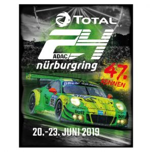 24h Race Fridge Magnet 2019