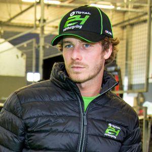 24h-Rennen Cap Sponsor schwarz