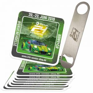 24h-Race Set Beer Coaster & Bottle Opener 2019