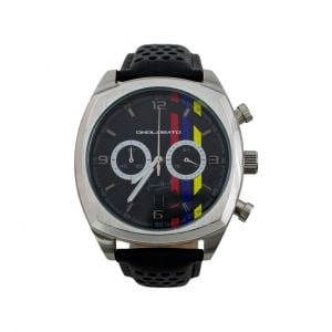 James Hunt Chronograph silber