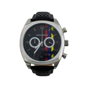 James Hunt Chronograph silver