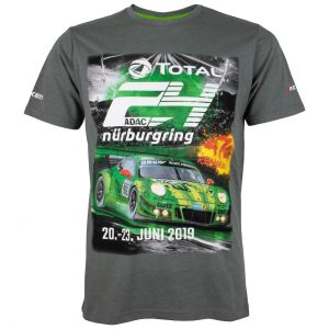 24h-Rennen T-Shirt 2019 grau