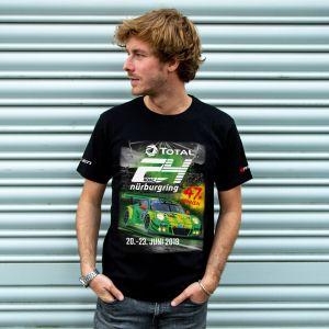 24h-Rennen T-Shirt 2019 schwarz