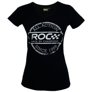 ROC Ladies V-Neck Shirt Stamp