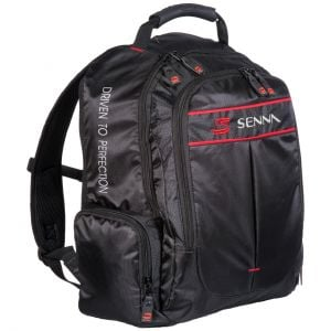 Ayrton Senna Backpack Double S right
