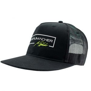 Mick Schumacher Flat Cap Series 1 2019 schwarz