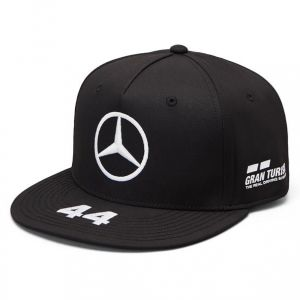 Mercedes AMG Petronas Motorsport Lewis Hamilton 2019 F1™ Casquette à bord plat noire