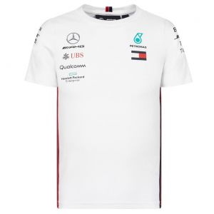 Mercedes AMG Petronas Motorsport 2019 F1™ t-shirt conducteur enfants blanc