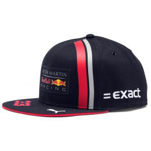 Red Bull Racing Driver Cap Flat Brim navy