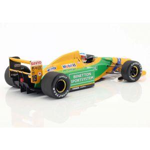 Michael Schumacher Benetton B192 #19 3rd GP de Italia F1 1992 1:18