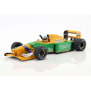 Michael Schumacher Benetton B192 #19 4th Monaco GP Formel 1 1992 1:18