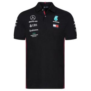 Mercedes AMG Petronas Motorsport 2019 F1™ polo conductor hombre negro