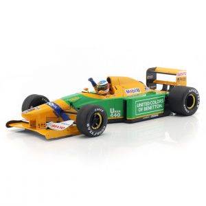 Michael Schumacher Benetton B192 #19 4th Monaco GP Formel 1 1992 1/18