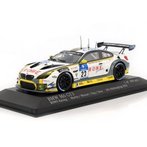BMW M6 GT3 #23 24h Nürburgring 2016 Rowe Racing 1:43