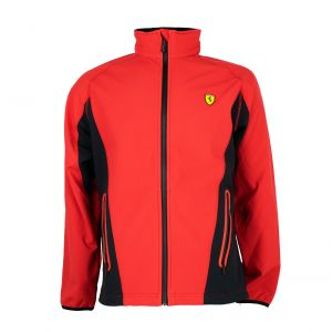 Scuderia Ferrari Softshelljacke rot-schwarz