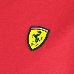 Scuderia Ferrari Softshell jacket red-black
