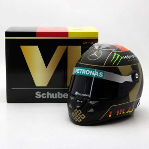 Nico Rosberg miniature helmet German GP 2014 1/2