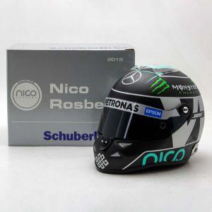 Nico Rosberg miniature helmet 2015 1/2
