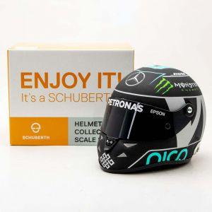 Nico Rosberg Miniaturhelm 2016 1:2
