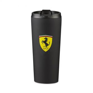 Scuderia Ferrari Thermal Mug matt black