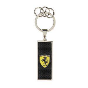Scuderia Ferrari Carbon Keychain