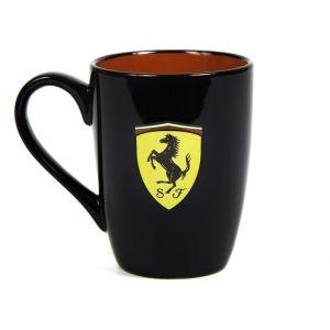 Scuderia Ferrari Tasse Scudetto schwarz