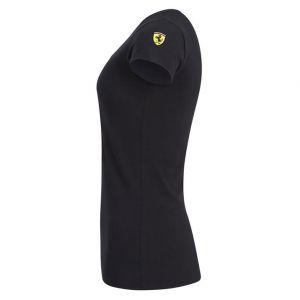 Scuderia Ferrari Womens Racer T-Shirt black