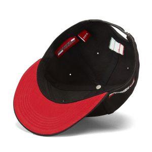 Cappello Visiera piatta Scuderia Ferrari nero