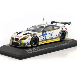 BMW M6 GT3 #22 24h Nürburgring 2016 Rowe Racing 1:43