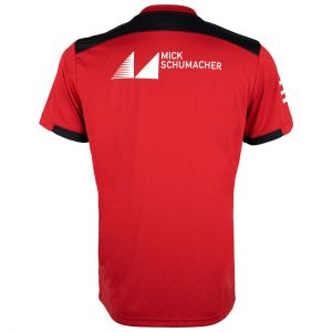 Camiseta Mick Schumacher 2019 rojo