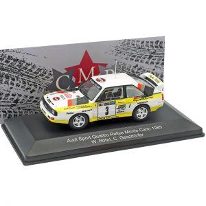Röhrl, Geistdörfer Audi Sport Quattro #3 2nd Rallye Monte Carlo 1985 1:43
