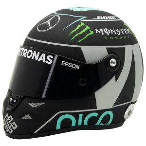Casco miniatura Nico Rosberg 2016 1/2