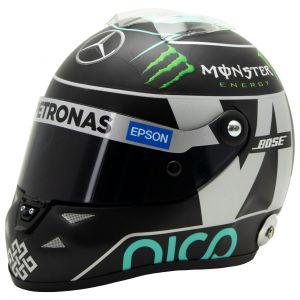 Nico Rosberg Miniaturhelm 2015 1:2