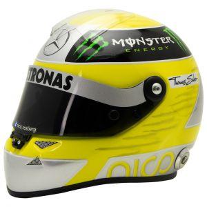 Nico Rosberg Miniaturhelm 2013 1:2