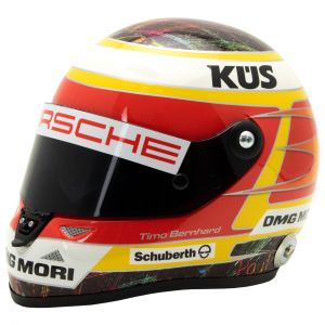 Timo Bernhard miniature helmet 2015 1/2