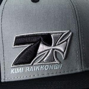 Kimi Raikkonen Casquette Croix Sept Flatbrim