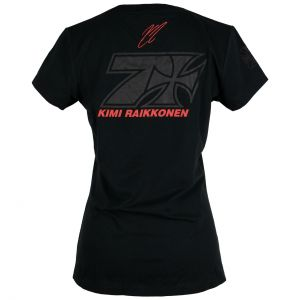 Kimi Räikkönen Ladies T-Shirt Cross Seven