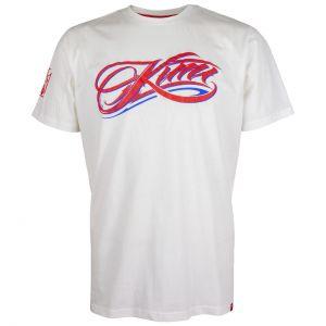 Kimi Räikkkönen T-Shirt Script Logo blanc