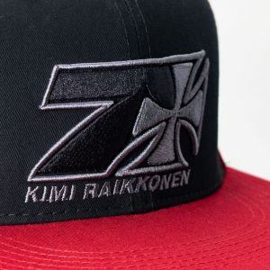 Kimi Räikkönen Cap Cross Seven Flatbrim red
