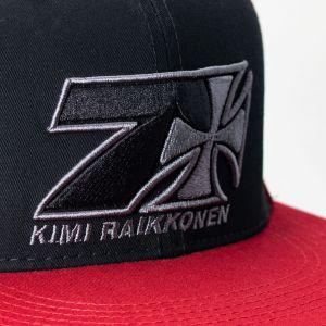 Kimi Räikkönen Cap Cross Seven Flatbrim rot