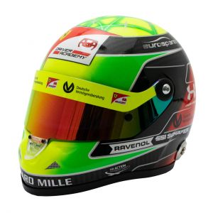 Mick Schumacher casque miniature 2019 1/2