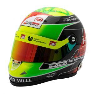 Mick Schumacher miniature helmet 2019 1/2