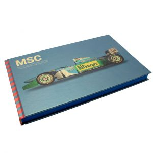 Michael Schumacher MSC book Blue-2