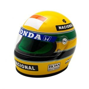 Casco Ayrton Senna 1990 Scala 1:2