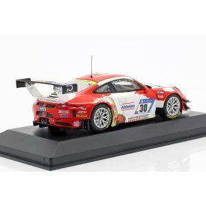 Porsche 911 (991) GT3 R #30 24h Nürburgring 2018 Frikadelli Racing 1/43