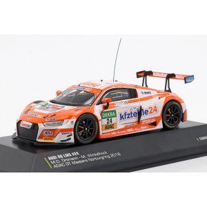 Audi R8 LMS #24 ADAC GT Masters Nürburgring 2018 Ortmann, Winkelhock 1:43