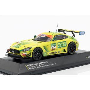 Mercedes-Benz AMG GT3 #47 Pommer, Götz ADAC GT Masters Nürburgring 2018 1/43