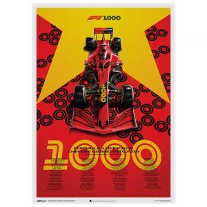 Formel 1 Heineken Poster Chinese Grand Prix 2019